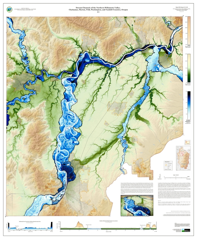 Stream Channels of the Northern Willamette Valley