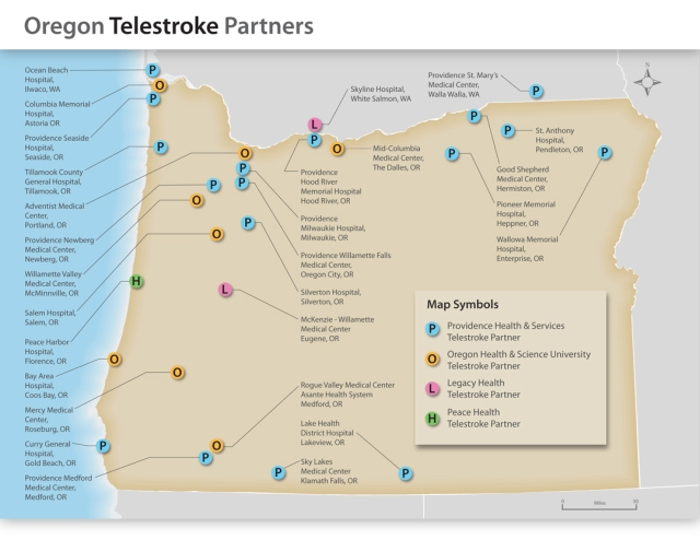 Oregon Telestroke Sites