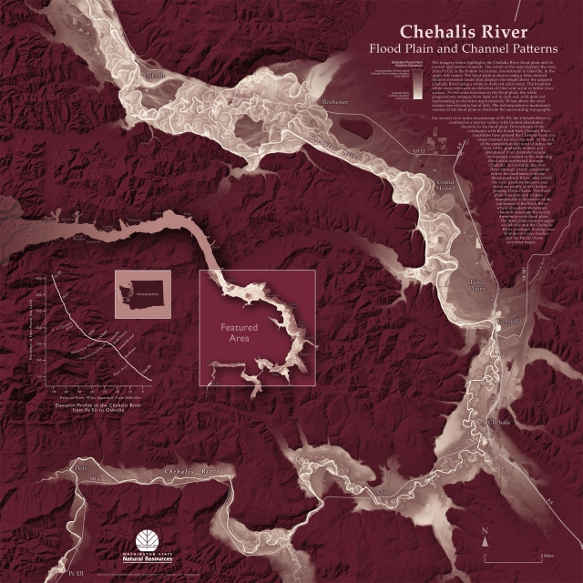 Chehalis River Flood Plain and Channel Patterns