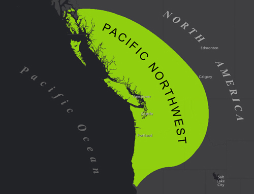 Pacific Northwest range